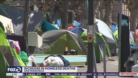 Pandemic indirectly contributes to spike in homeless deaths in San Francisco