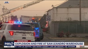 'Honey oil' sparks fire and violent roof explosion at San Leandro warehouse: police