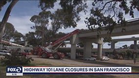 Caltrans to get back to work on Highway 101 in San Francisco
