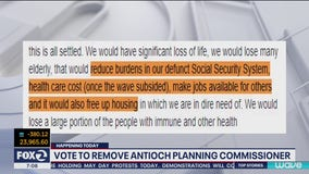 Antioch planning commissioner removed following controversial Facebook post