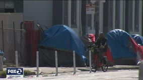 Number of people living in Tenderloin tents have nearly tripled