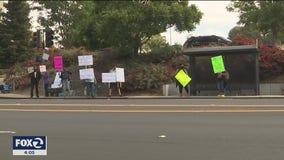 Protest at Vallejo nursing home with deadly coronavirus outbreak