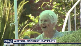 A special 95th birthday party for San Leandro woman