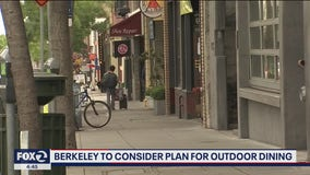 Berkeley proposing outdoor dining on city streets, parks