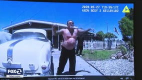 Family, police release videos of shooting by Hayward officers