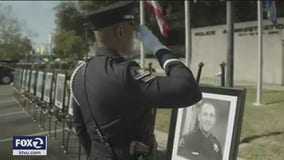 San Jose police hold first virtual memorial for fallen officers