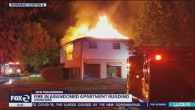 Fire starts in abandoned Concord apartment building