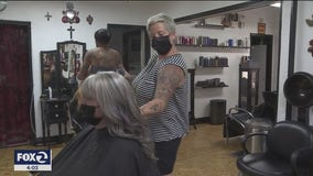 Barber shops and hair salons prepare to open in select counties