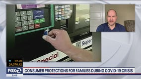 Consumer protections during COVID-19 crisis