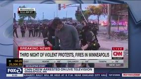 CNN reporter gets arrested on live TV