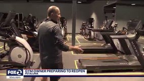 Bay Area gym owner prepares to reopen, hopes to do so soon