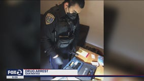 2 pounds of cocaine found during San Mateo traffic stop
