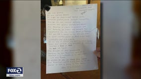 San Leandro woman arrested after posting racist letters on several homes