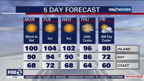 Sizzling temperatures expected around the Bay Area during 4-day heat wave