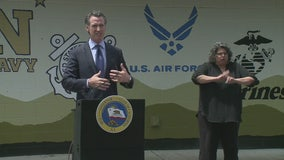 Governor Gavin Newsom provides a Friday update on COVID-19 ahead of Memorial Day weekend