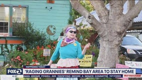 The Raging Grannies have a message: Stay home, save a granny
