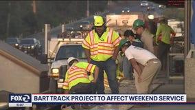 BART track work to affect weekend service between Lafayette, Rockridge stations