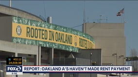 Oakland A's miss rent payment for Coliseum