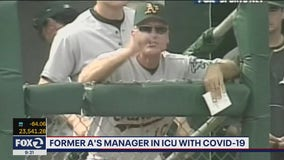 Art Howe, former Oakland Athletics manager, in ICU