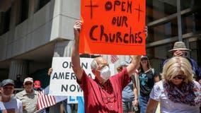 US says California's reopening plan discriminates against churches