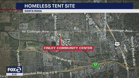 Santa Rosa setting up tents for homeless in community center lot