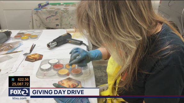 Giving Day Drive highlights ArtSpan