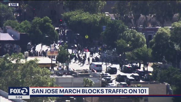 San Jose Mayor Liccardo says goal is to keep George Floyd protests as peaceful as possible