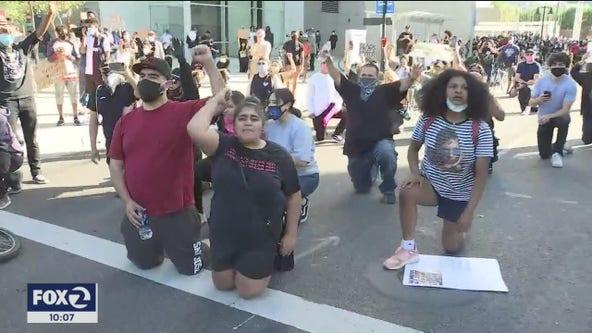 George Floyd protests in San Jose turn violent