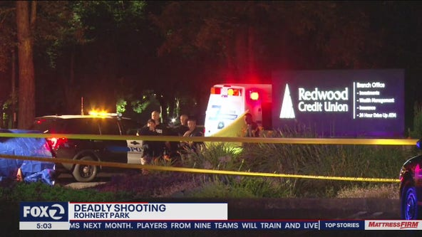 Deadly shooting in Rohnert Park; man's body found in parking lot