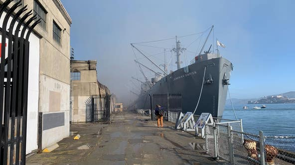 SS Jeremiah O'Brien supporters seek donations to replace items lost in Pier 45 fire