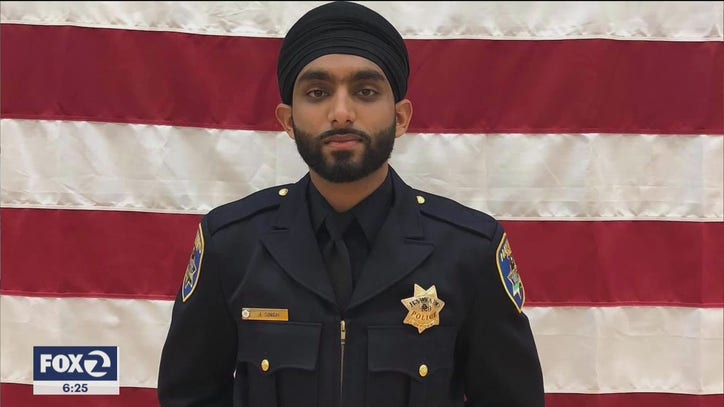 First Sikh officer with turban in Alameda County