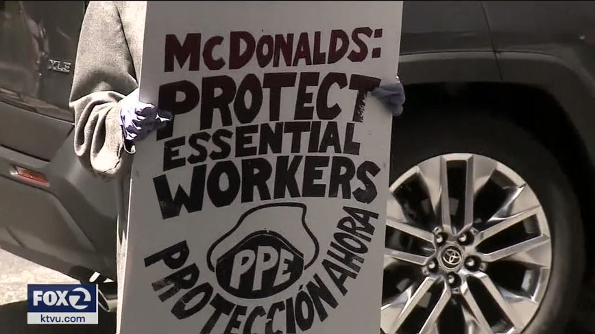 Oakland McDonald's linked to 25 COVID-19 cases ordered to do more to protect workers, public