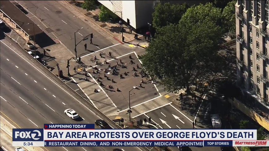 Police in Oakland brace for another day of George Floyd demonstrations
