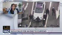 ACLU against curfews