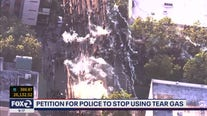Doctors petition police to stop using tear gas