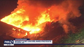 Atlanta: Wendy's restaurant destroyed, 1 officer fired and 1 put on administrative duty in deadly shooting