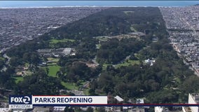 San Francisco parks reopen