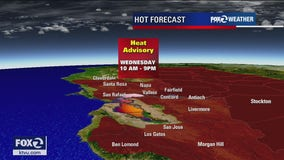 Heat advisory going into effect for parts of Bay Area
