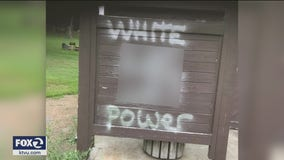 Vallejo police investigate racist graffiti as hate crime