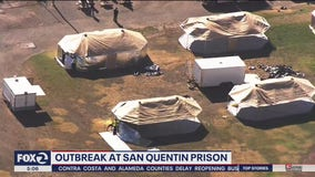 San Quentin prisoners moved into triage tents with coronavirus outbreak