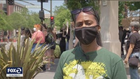 Youth join protest for George Floyd in Livermore