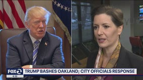 Oakland officials fire back after Trump says city is like 'living in hell'