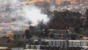 Vegetation fire in San Francisco prompts evacuation order
