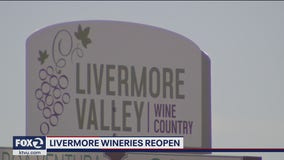 Livermore Valley wineries set to reopen this weekend