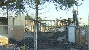 Aftermath of Suisun City fire