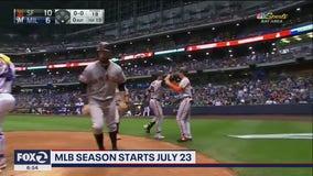 MLB Season starts July 23