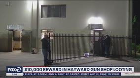 $10K reward for information about Hayward gun shop theft