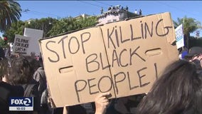 Thousands march in San Francisco solidarity protest, demand police reform