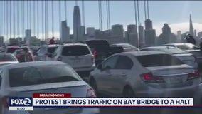 Protest on the Bay Bridge