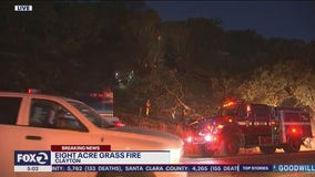 Brush fire in Clayton might have been started by fireworks: firefighters